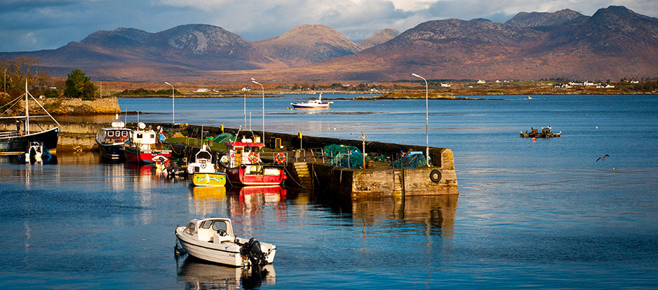 Galway harbour at a glance